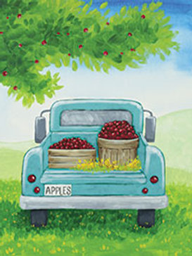 PICKING APPLE  (PAINTING KIT/PARTY)
