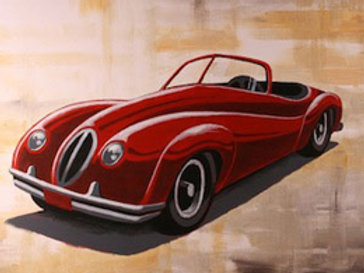 VINTAGE COUPE (PAINTING KIT/PARTY)
