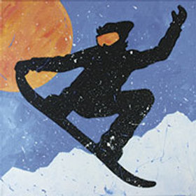 SNOWBOARDER  (PAINTING KIT/PARTY)