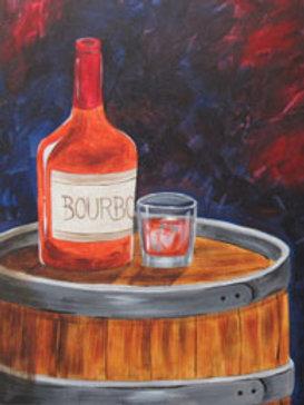 BOURBON (PAINTING KIT/PARTY)