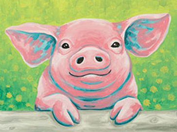 POPPY THE PIG (PAINTING KIT/PARTY)