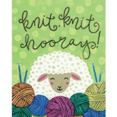 KNIT KNIT HOORAY(PAINTING KIT/PARTY)