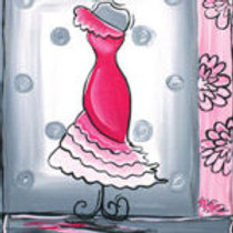 PRETTY IN PINK (PAINTING KIT/PARTY)