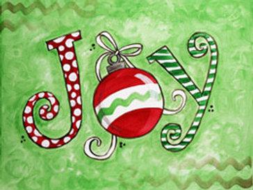 CHRISTMAS JOY (PAINT KIT/PARTY)