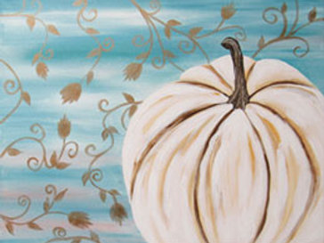 WHITE PUMPKIN (PAINTING KIT/PARTY)