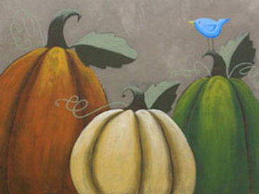 RUSTIC PUMPKINS (PAINTING KIT/PARTY)