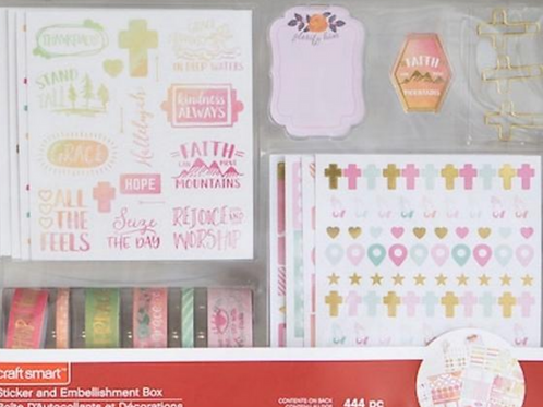 Inspiration Stickers and Embellishment