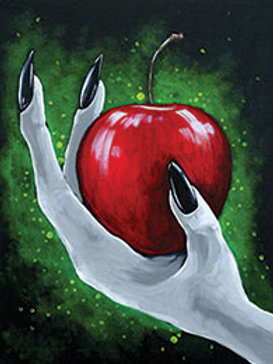 POISON APPLE  (PAINTING KIT/PARTY)