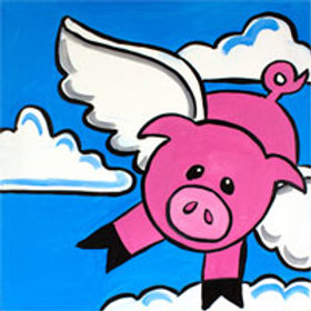 WHEN PIGS FLY (PAINT KIT/PARTY)