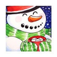 COZY SNOWMAN (PAINTING KIT/PARTY)