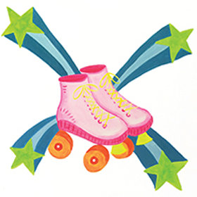 SUPERSTAR SKATES (PAINTING KIT/PARTY)