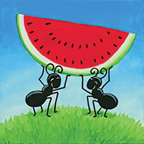 WATERMELON HEIST (PAINT KIT/PARTY)