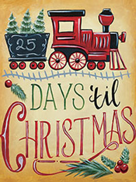 DAYS TIL CHRISTMAS (PAINT KIT/PARTY)