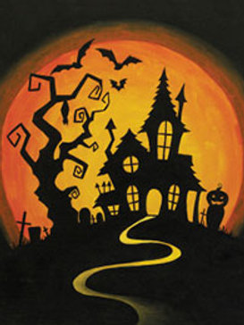 HILLTOP HAUNT (PAINTING KIT/PARTY)