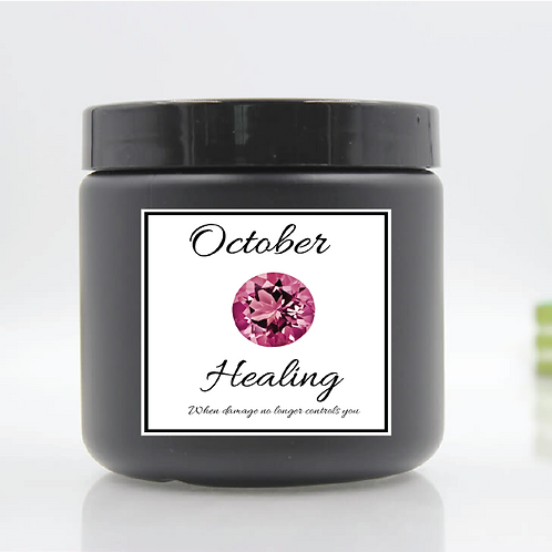 October Birth Month Body Butter
