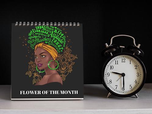 Flower of the Month Calendar