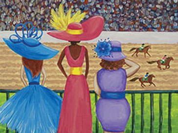 KENTUCKY DERBY (PAINT KIT/PARTY)