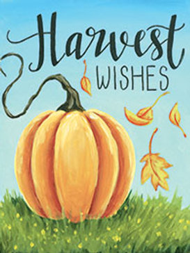 HARVEST WISHES (PAINTING KIT/PARTY)