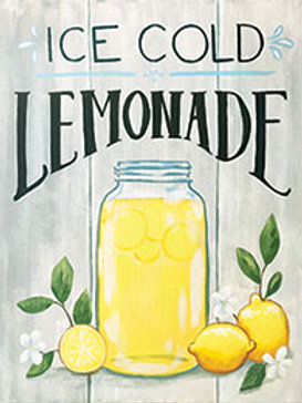 ICE COLD LEMONADE (PAINTING KIT/PARTY)