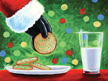 COOKIES FOR SANTA (PAINT KIT/PARTY)