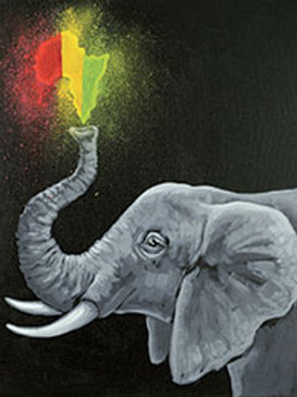 AFRICAN ELEPHANT (PAINT KIT/PARTY)
