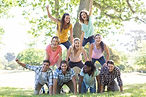 Photo of a group of youth.