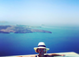 My Day in Santorini Greece