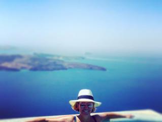 My Day in Santorini Greece