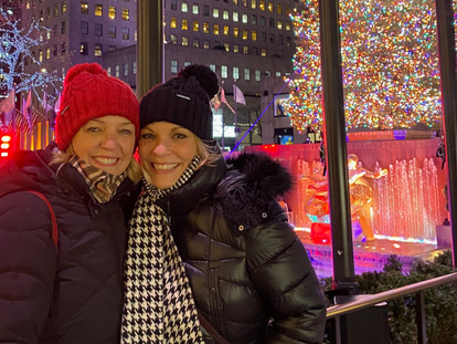 Christmas Lights are Still Twinkling in New York City