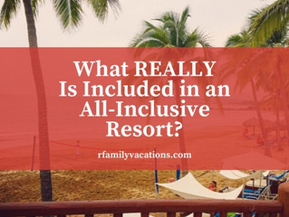 What REALLY Is Included in an All-Inclusive Resort?