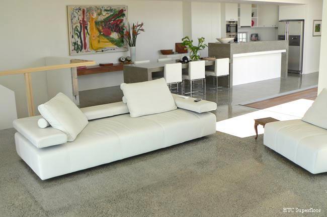 Polished Living Area