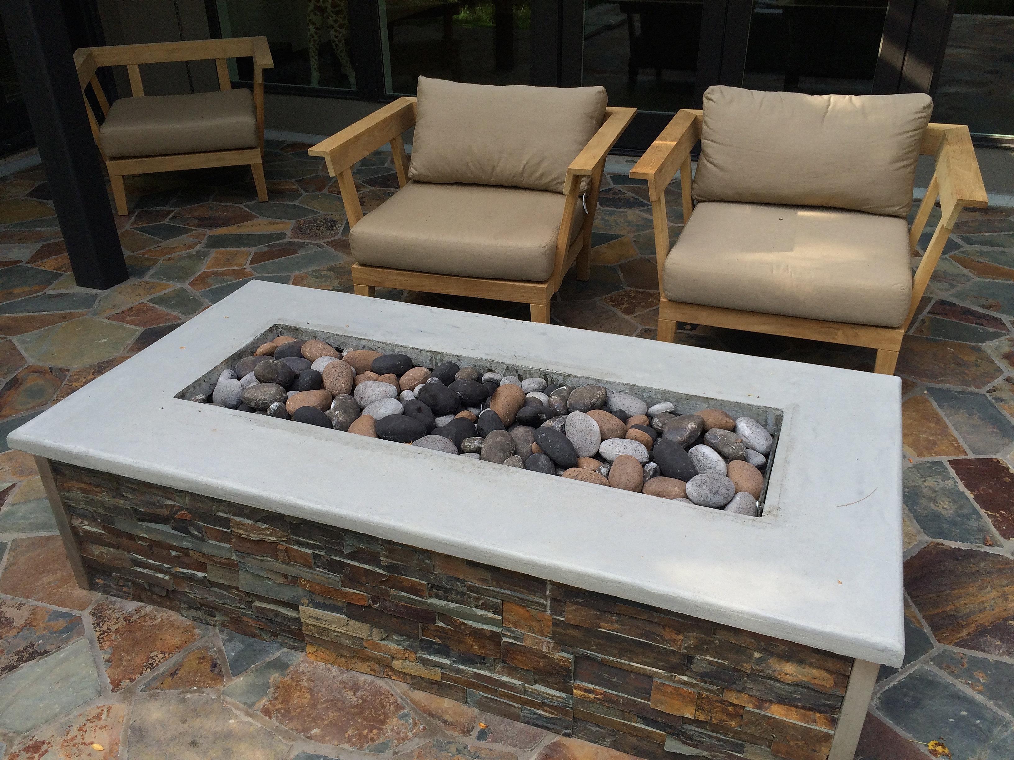 Countertop Fireplace - BSTCountertops