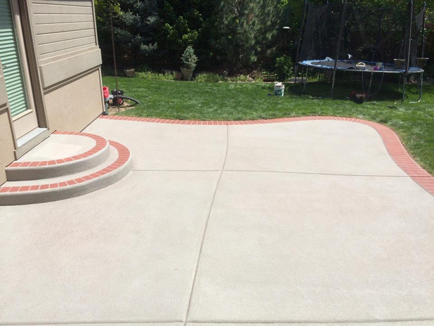 Residential Patio After