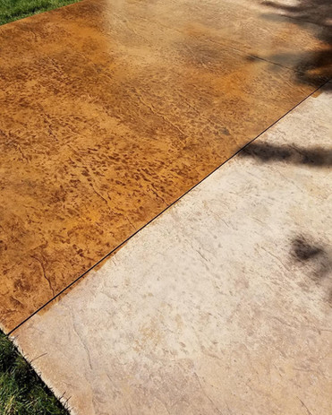 Stained & Sealed Patio