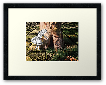 framed print of The Fairy Tree