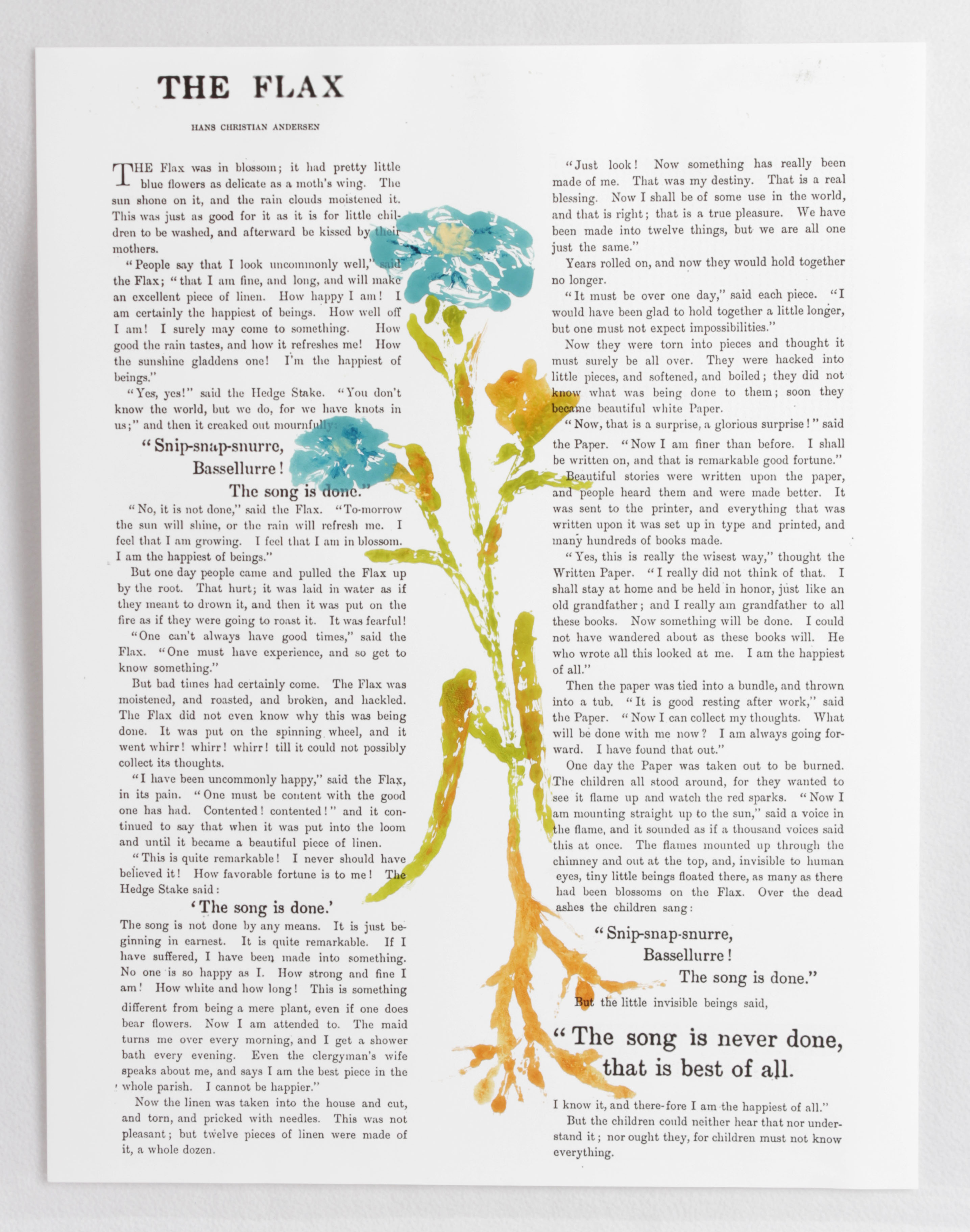The Story of the Flax