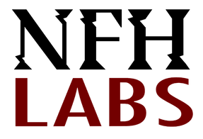the logo for NFH labs