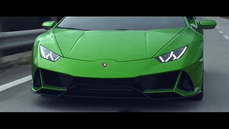 The new Lamborghini Huracan EVO Spyder with Stephanie Childress - The sound of emotions