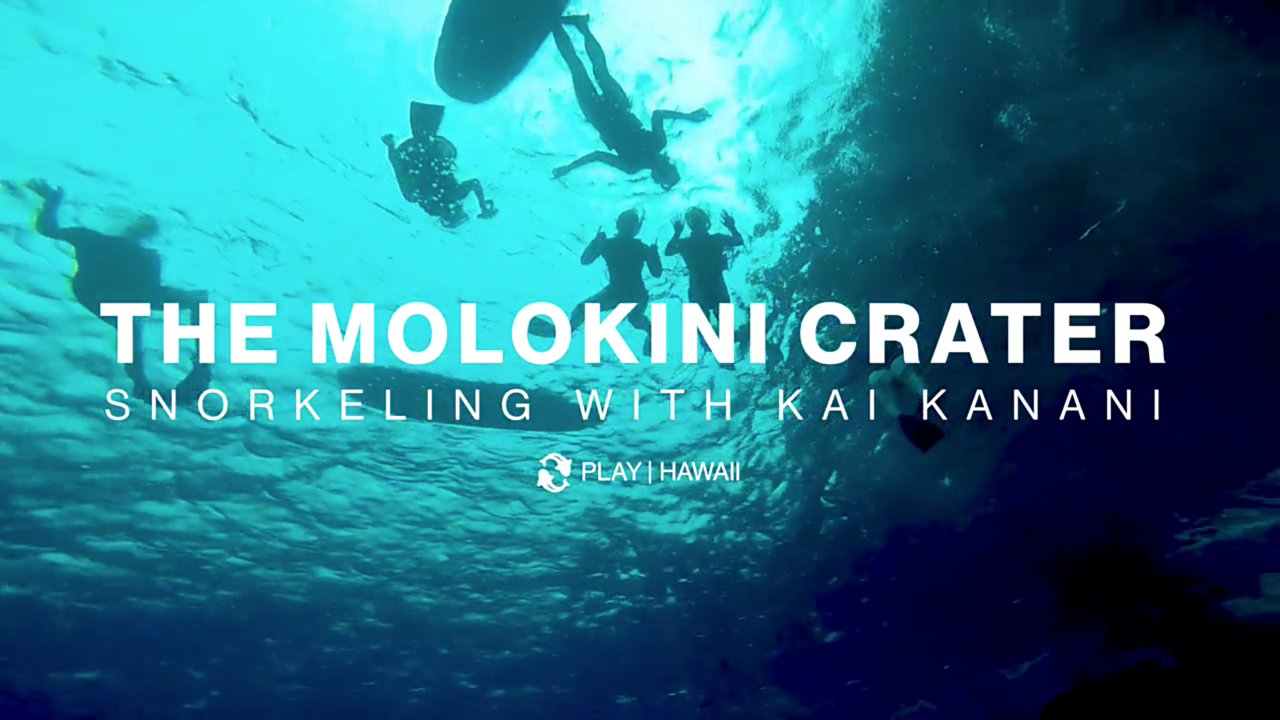 The Molokini Crater