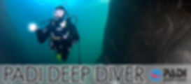 Especialidad PADI buceo profundo
