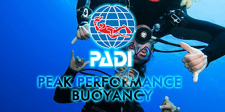 Especialidad PADI flotabilidad