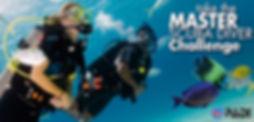 Master Scuba Diver de PADI