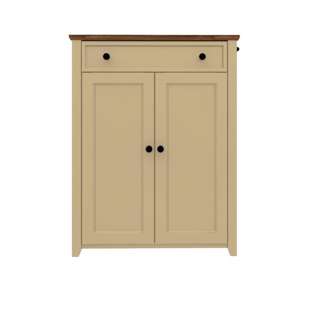 1 Drawer 2 Doors Cabinet