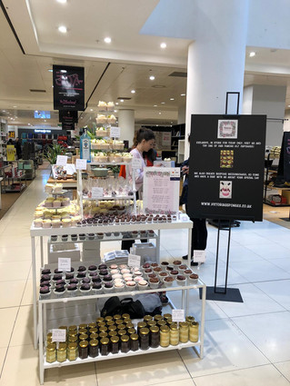 Our pop up shop at House of Fraser
