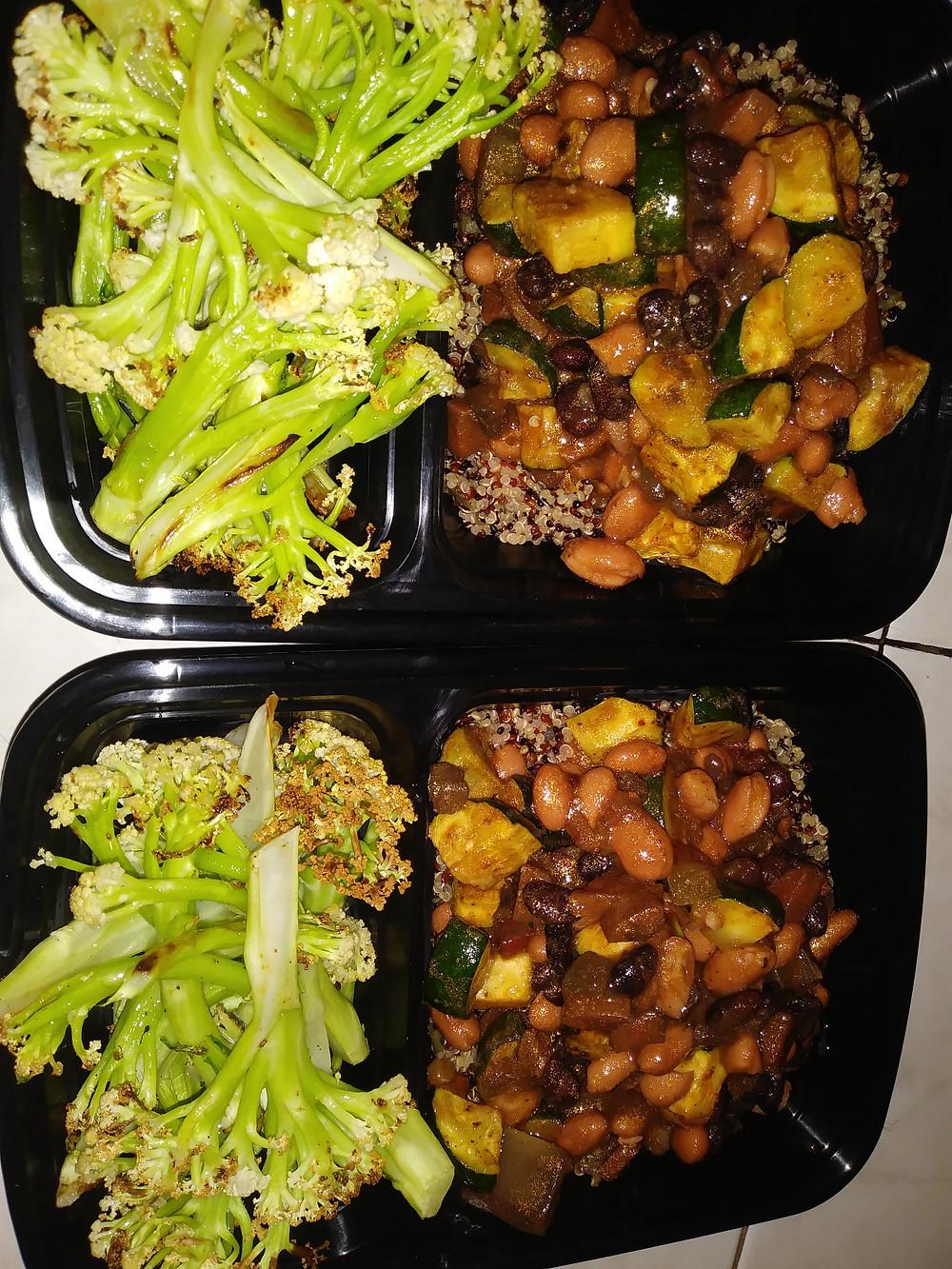 BBQ yuba w/ charred peppers