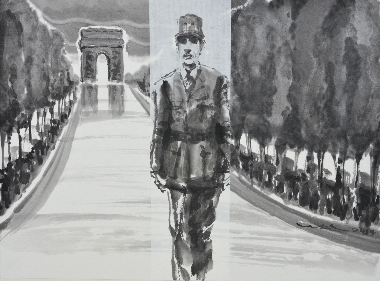 De Gaulle aux Champs Elysées
