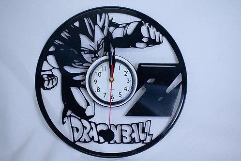 Dragon Ball Z Vinyl Clock
