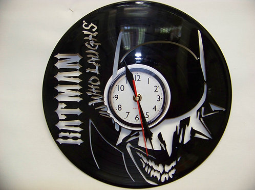 DC Villains Vinyl Clocks
