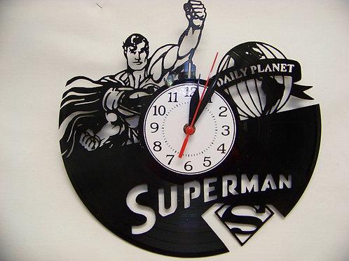 DC Heroes Vinyl Clocks