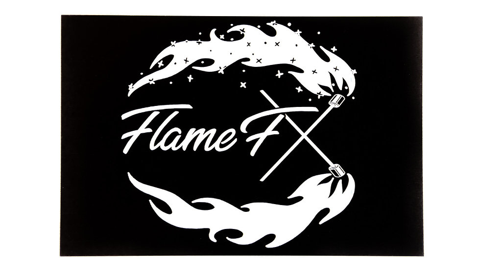 "4x6 ""FlameFX"" Sticker"